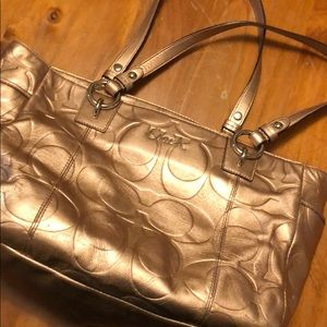 Gold Coach Purse